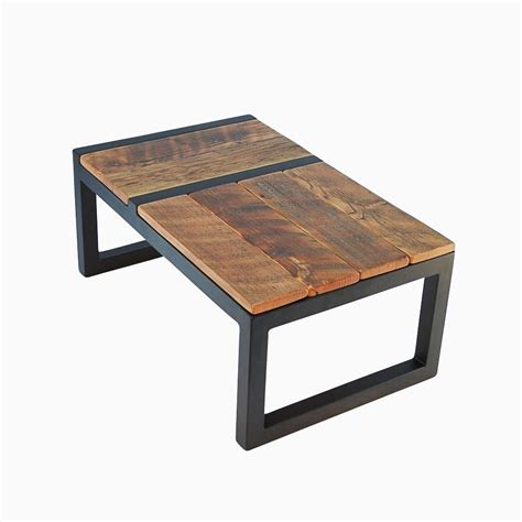 custom made coffee tables hand made rustic modern barnwood domino coffee table by