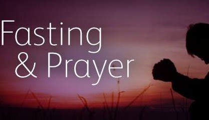 i am fasting today fasting and prayer today