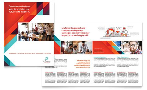 brochure templates microsoft publisher magazine maker design