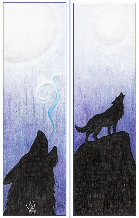 printable wolf bookmarks wolf bookmark by ytse80 on deviantart