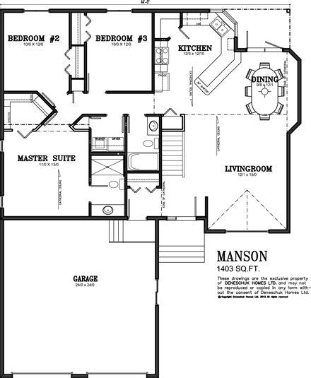 1500 Sq Ft Ranch House Plans With Basement Deneschuk Ranch House Plans With Rear Exposure