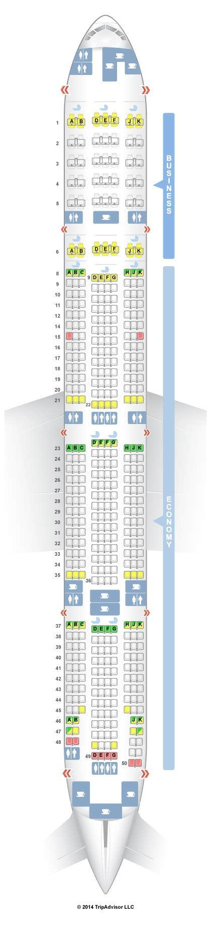 plan si鑒es boeing 777 300er air seatguru seat map emirates boeing 777 300er 77w two class