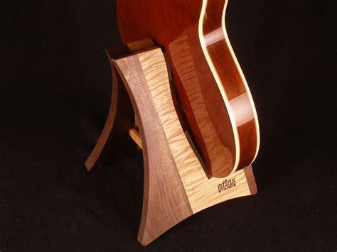 curly maple  black walnut guitar stand  folds
