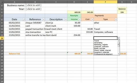3 accounting excel templates excel xlts
