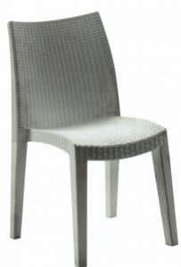 lade in resina sedia in resina da giardino idfdesign
