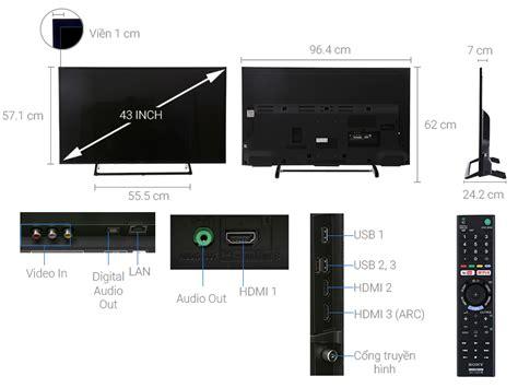 Sony Led 43x7000e Smart Tv 4k tivi sony 4k 43 inch kd 43x7000e xem ngay gi 225 tốt 05 2018