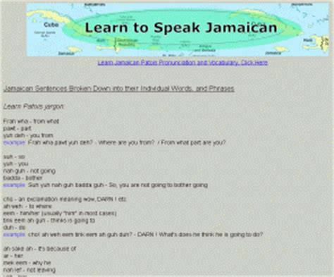 How To Speak Patios by Talk8tive Jamaican Patwa Words Sentences And Phrases