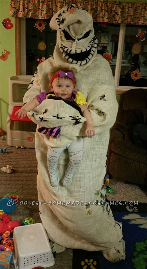 Coolest Handmade Costumes - coolest oogie boogie costume and baby sally doll
