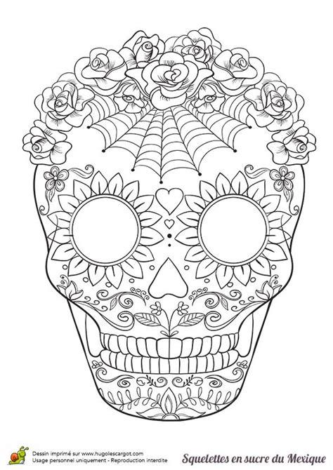 17 Meilleures Id 233 Es 224 Propos De Dia De Los Muertos Coloring Pages