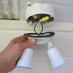 How To Install Outdoor Flood Lights Installing Outdoor Flood Lights To Improve Home Security