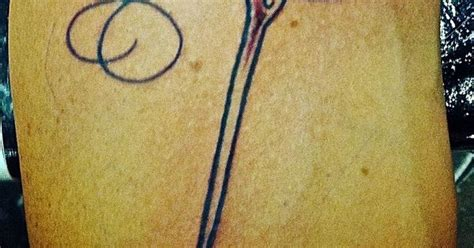 tattoo needle hitting skin tribute to my mom sewing needle tattoo in the shape of a