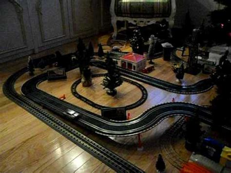 lionel layout youtube christmas lionel train layout 2009 youtube