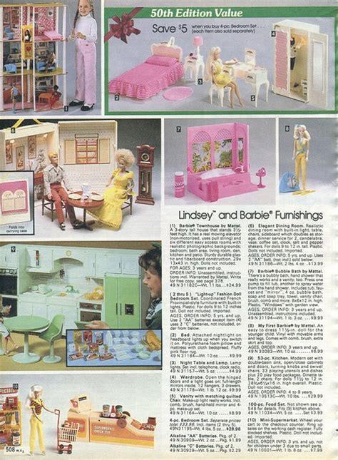 Barbies!! 1982 xx xx Sears Christmas Catalog P508 by