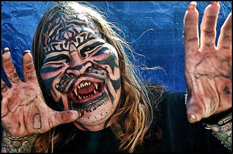cat man tattoo died cat man man cat whidbey island county fair i first