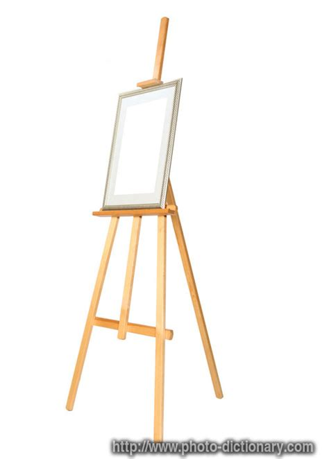 easel photopicture definition  photo dictionary