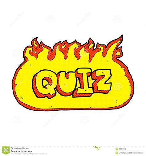Drawing Quiz by Quiz Sign Stock Illustration Illustration Of
