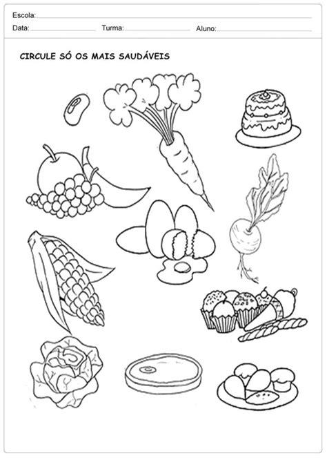 Atividades sobre Alimentação para Educação Infantil - Para