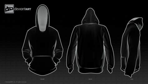 black hoodie template template for jester mazoku by drawer er izer ist on