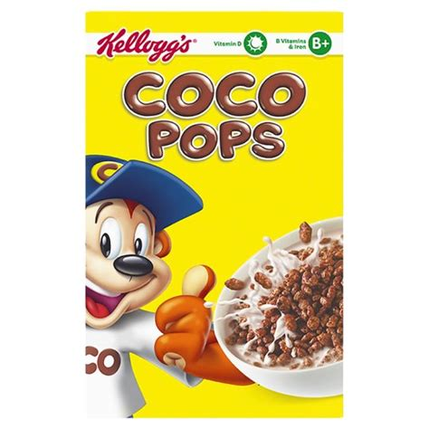 Coco Pops | kelloggs coco pops cereal 800g groceries tesco groceries