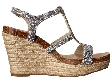 evening wedge sandals betsey johnson blue by darci wedge evening sandals in