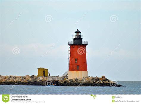 cape henlopen lights cape henlopen lighthouse royalty free stock image image