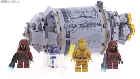 Wars Lego Droid Escape Pod lego wars 2016 droid escape pod review 75136