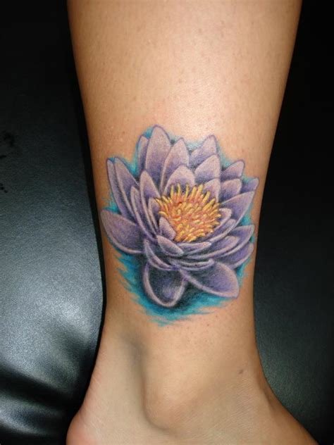 small water lily tattoo