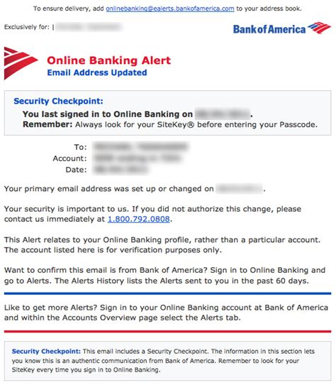 bank of america address a look at how popular websites update your email address