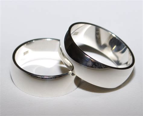 Eheringe 7mm Breit by 2 925 Silber Trauringe Eheringe Hochzeitsringe
