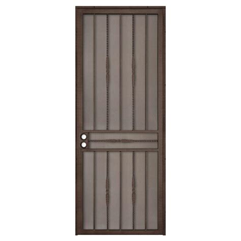 home depot security doors grisham 32 in x 80 in 808