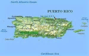 Puerto Rico Map Images by Puerto Rico