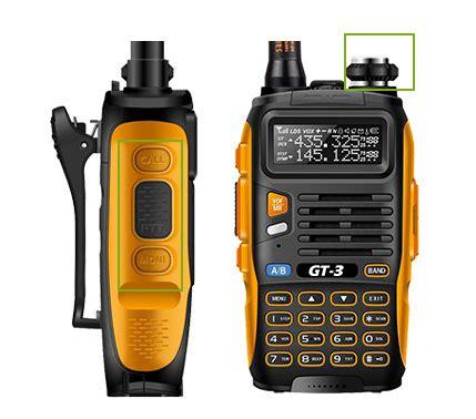 Ht Baofeng Bf 888s Uhf By Sp Shop baofeng gt 3 pofung ii prova de agua radios
