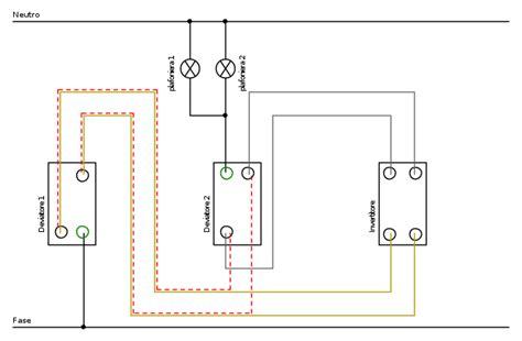 accensione lada da tre punti impianto tre interruttori e due punti luce il forum di
