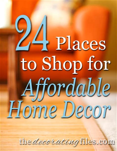 best places to shop for home decor affordable home decor 24 places to shop