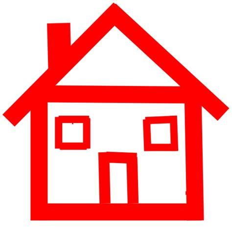 stick house red stick house clip art at clker com vector clip art online royalty free public