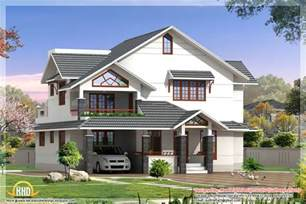 design homes free indian style 3d house elevations kerala home design and floor plans
