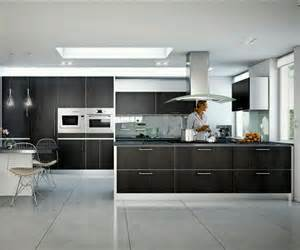 Contemporary Kitchen Interiors by Rumah Rumah Minimalis Modern Homes Ultra Modern Kitchen