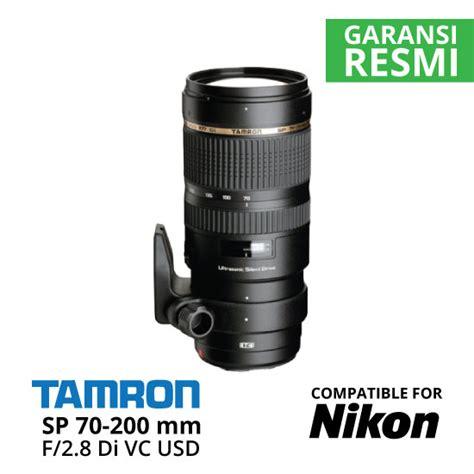 Lensa Nikon 70 200 jual tamron sp 70 200 mm nikon di vc usd f 2 8 harga dan