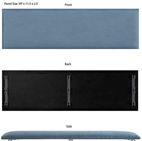 more sizes installation pictures individual accent vant upholstered headboards accent wall panels packs of