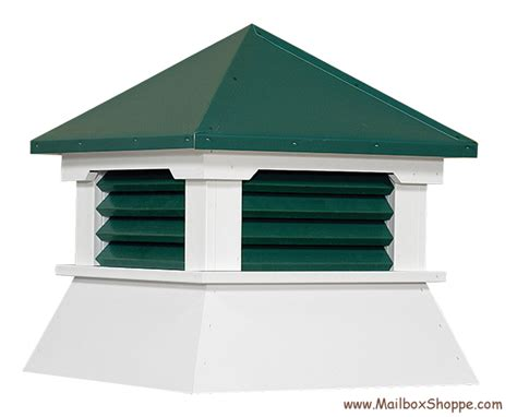 Plastic Cupola Vinyl Shed Cupola With Painted Aluminum Roof Louvers