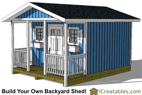 shed  porch icreatables