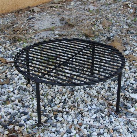 pit grates cast iron sturdy cing fry pan skillet stand grate cast iron