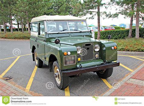 retro range rover vintage land rover jeep stock image image 26712241