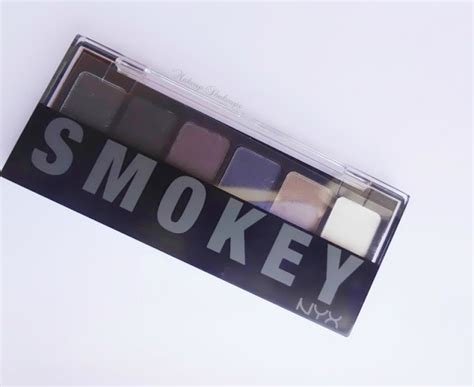 nyx eyeshadow smokey nyx smokey eyeshadow palette cosmetics