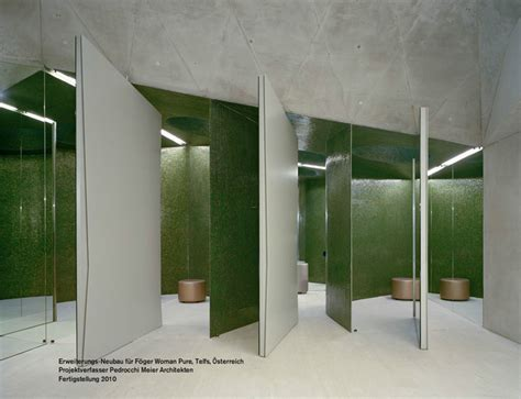 changing room design f 246 ger woman pure by pedrocchi architects telfs austria