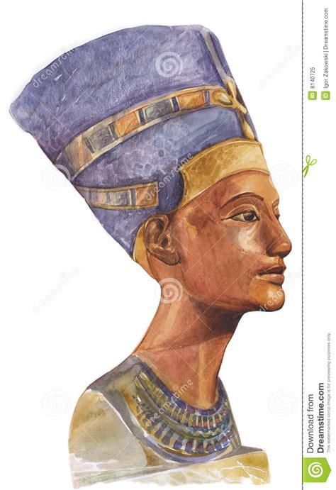 nefertiti swing ancient egyptian queen nefertiti royalty free stock photo