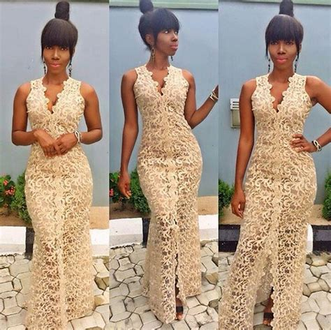 bella naija nikah 457 best african lace dresses images on pinterest