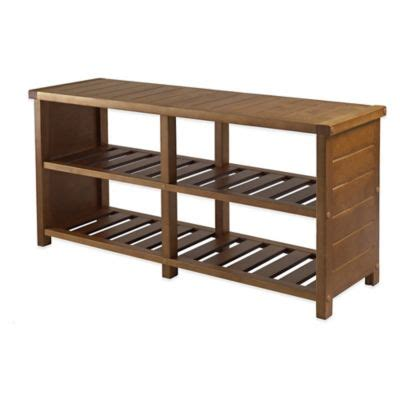 entry benches with shoe storage buy storage entryway furniture from bed bath beyond