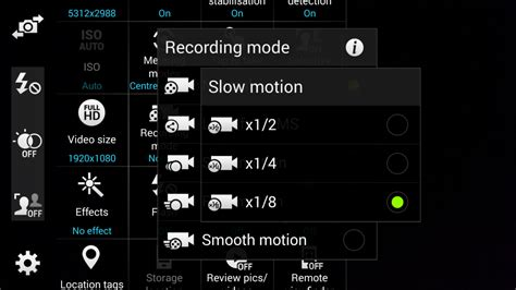android motion how to record motion on the samsung galaxy s5