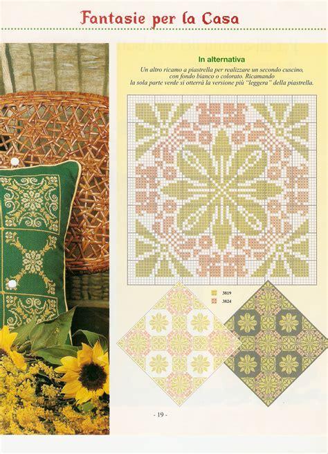 cuscini a punto croce schemi cuscino motivi geometrici schema punto croce 2